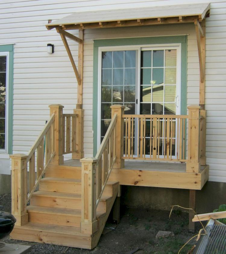 Farmhouse Front Porch Ideas: 40 Farmhouse Front Porch Steps Ideas
