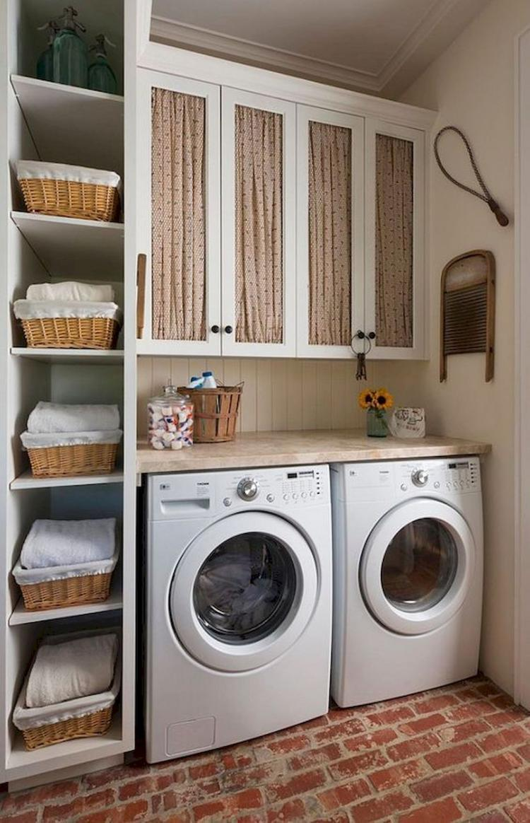 Farmhouse Rustic Laundry Room Decor Ideas