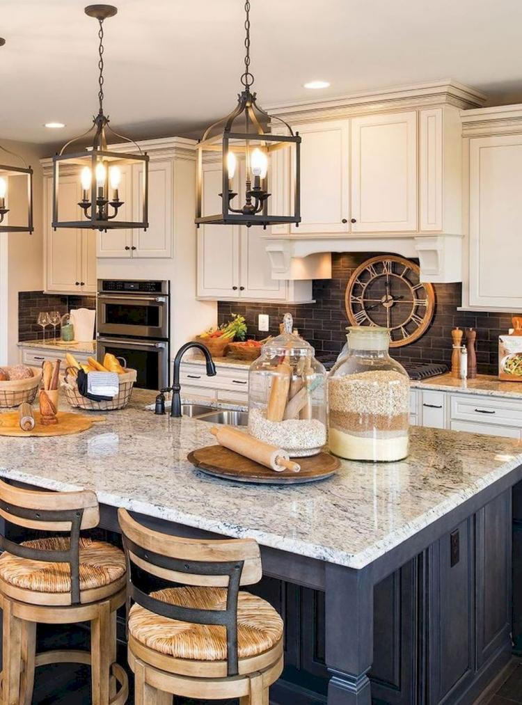 69 modern farmhouse kitchen makeover decor ideas - Modern farmhouse kitchen decor ...
