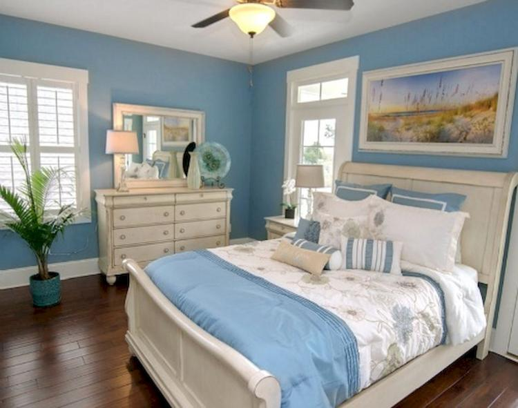 50+ Romantic Coastal Bedroom Decorating Ideas