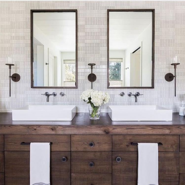 Remodel Master Bathroom Contractors In Palm Springs Ca: 45+ Cool Modern Farmhouse Master Bathroom Remodel Ideas