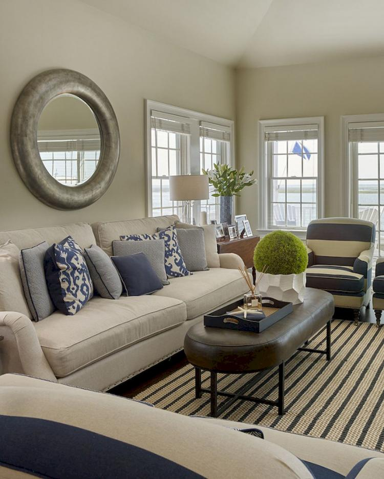 50 Inspiring Coastal Living Room Decor Ideas