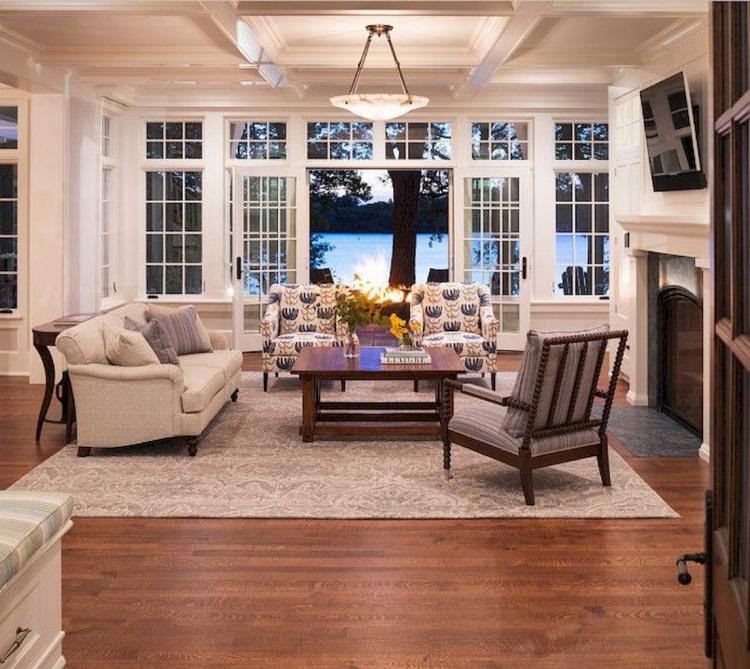 50 Lake House Living Room Decor Ideas