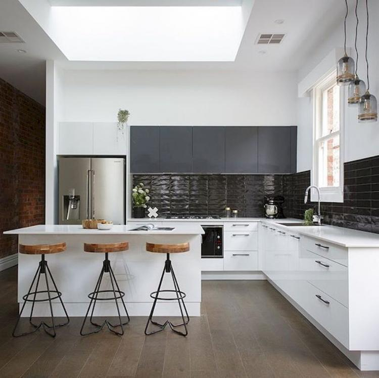Modern Kitchen Ideas With White Cabinets: 80+ Cool White Kitchen Cabinet Design Ideas