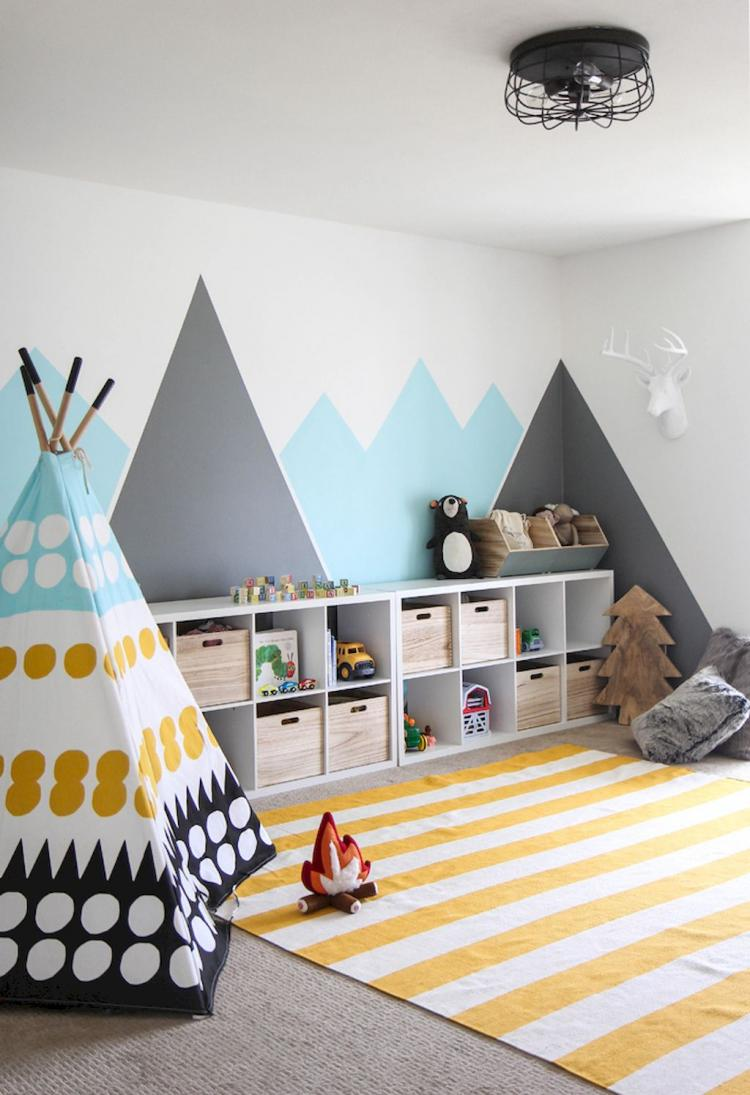 Small Playroom Ideas: 55 DIY Playroom For Kids Decorating Ideas