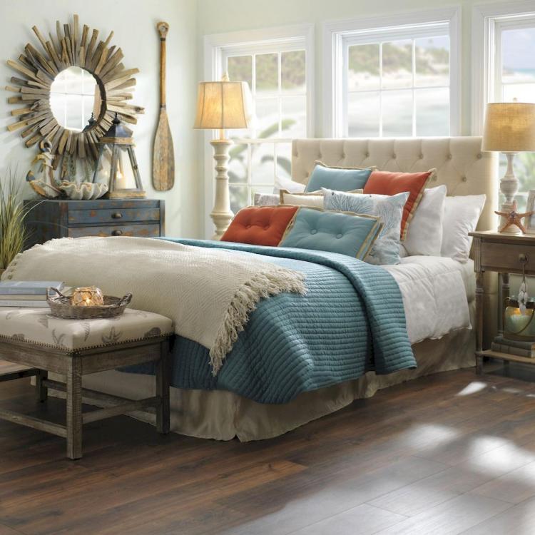 50+ Romantic Coastal Bedroom Decorating Ideas - Page 20 of 51