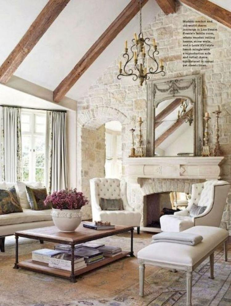 French Design Living Room: 40+ Stunning French Country Living Room Decor Ideas